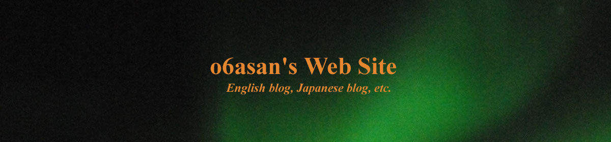 o6asan's Web Site